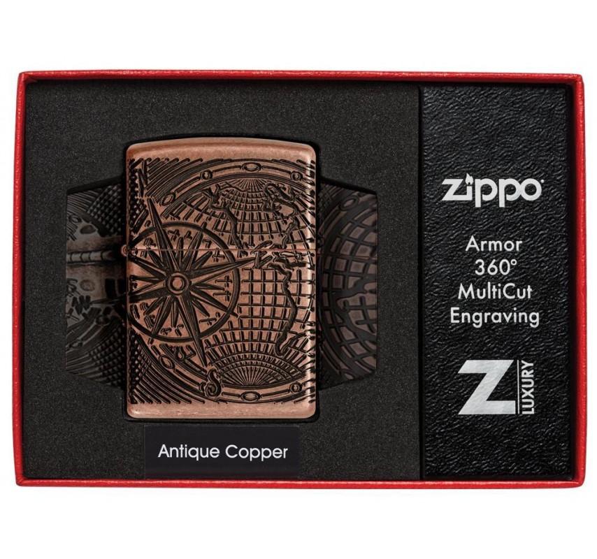 Zippo Armor World Map
