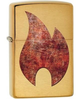 Zippo Rusty Flame 23162