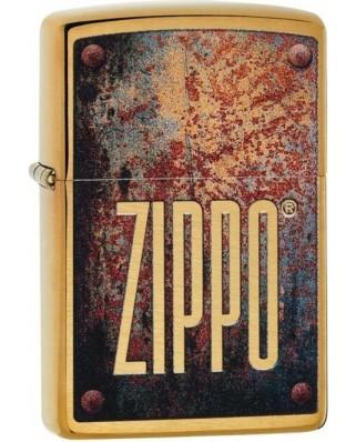 Zippo Rusty Plate 23163