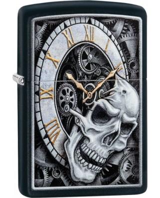 Zippo Skull Clock 26854