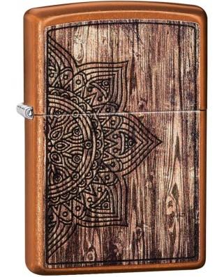 Zippo Wood Mandala 26853