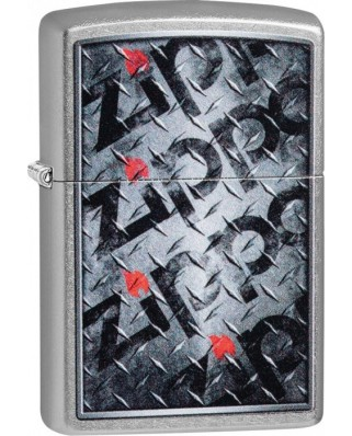 Zippo Diamond Plate 25511