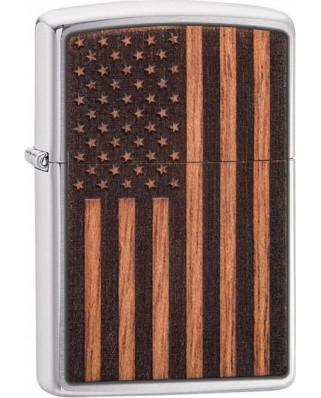 Zippo Woodchuck American Flag 21909