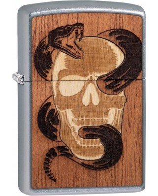 Zippo Woodchuck Skull Snake 25527