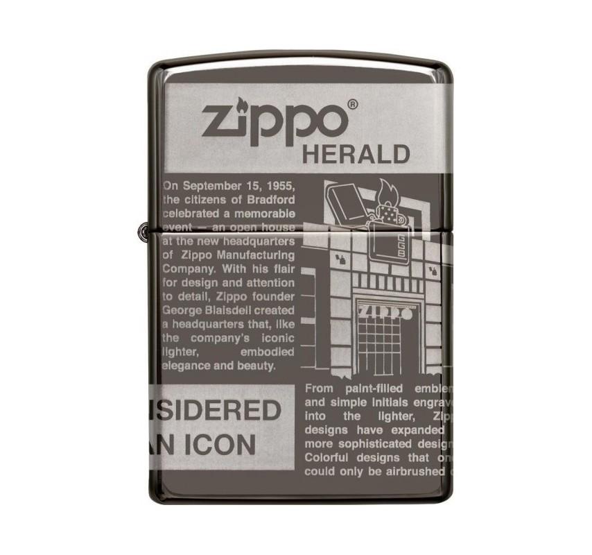 Zippo Newsprint 360° 25528