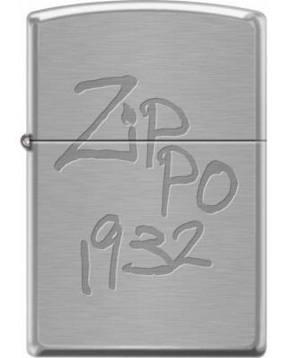 Zippo Scratched Look 21915