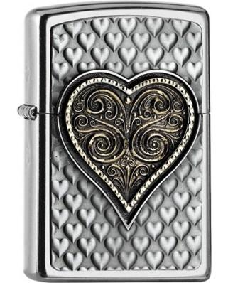 Zippo Heart 25542