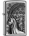 Originálny Zippo zapaľovač s motívom zverokruhu, kozorožec. Zippo je kovový benzínový zapaľovač s doživotnou zárukou a viac ako 80 ročnou tradíciou. Tieto kvalitné zapaľovače sa vyrábajú výhradne v USA.