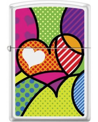 Zippo Pop Art Heart 26891