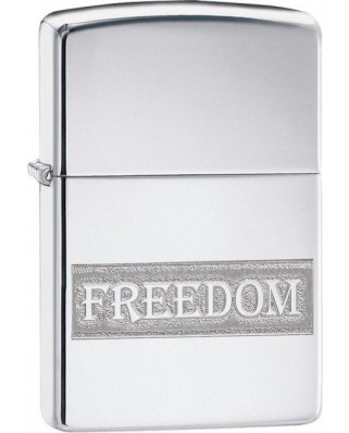 Zippo Etched Freedom 22087