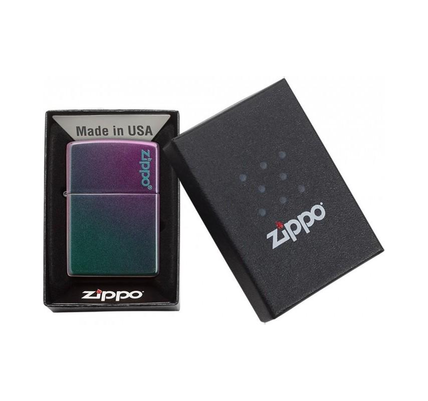 Zippo Iridescent Logo 26910