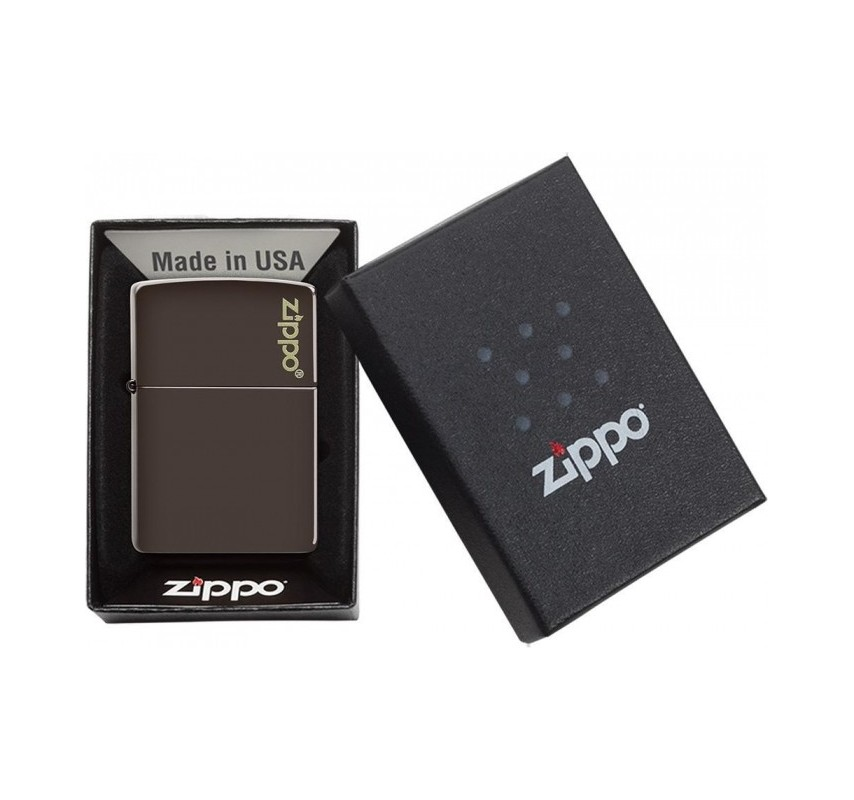Zippo Brown Logo 26911
