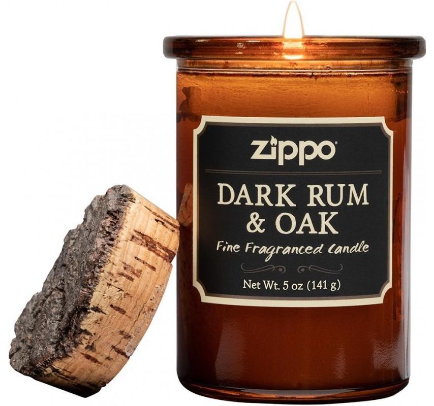Zippo Candle - Dark Rum & Oak