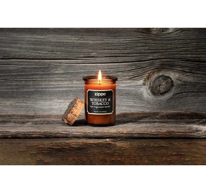 Zippo Candle - Whiskey & Tobacco