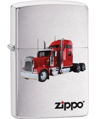 Zippo Red Diesel Truck