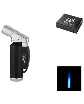 Winjet Premium Lighter Jet black/silver