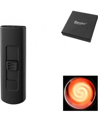 Eurojet USB zapaľovač - čierna
