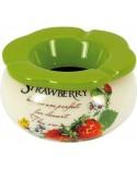 Keramický popolník Strawberry 12814
