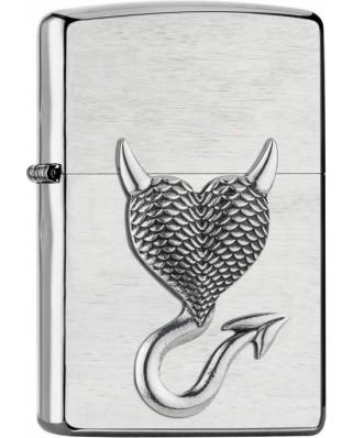 Zippo Devil Heart Emblem