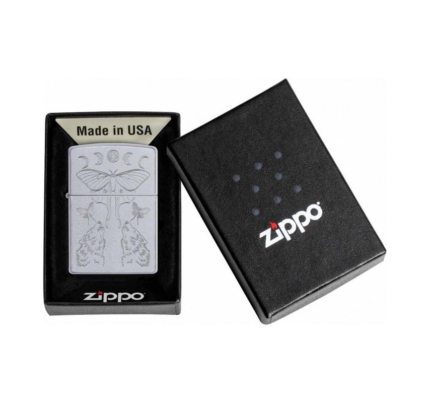 Zippo Butterfly & Wolf 20960