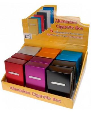 Kovové puzdro na cigaretovú krabičku